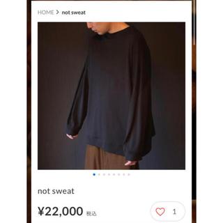 ヨウジヤマモト(Yohji Yamamoto)のka na ta not sweat カナタ size:1(Tシャツ/カットソー(七分/長袖))