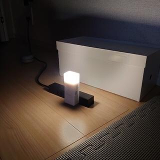ムジルシリョウヒン(MUJI (無印良品))の《美品》無印良品 LEDセンサーライト 証明 トイレ 原価 廊下(その他)