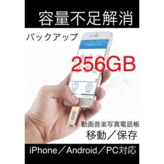 256GB usbフラッシュメモリ USB フラッシュドライブ バックアップ(その他)