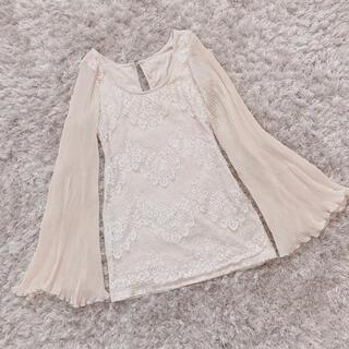リリーブラウン(Lily Brown)の本日限定 lace onepiece(ミニワンピース)