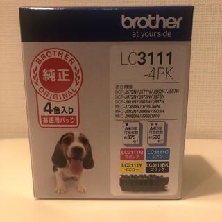 ブラザー(brother)のbrother(ブラザー)純正インクカートリッジ4色パック LC3111-4PK(PC周辺機器)