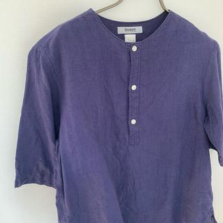 ユナイテッドアローズ(UNITED ARROWS)のヘンリーネック シャツ(Tシャツ/カットソー(半袖/袖なし))