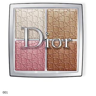 クリスチャンディオール(Christian Dior)のDior バックステージフェイスグロウパレット001(フェイスカラー)