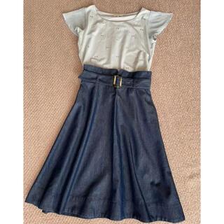 PROPORTION BODY DRESSING - スカートトップスセット