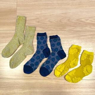 靴下屋 - 靴下 未使用2足と1度使用1足の3セット