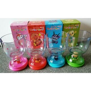 アンパンマン - アサヒ飲料コラボ品 アンパンマン フィギュアカップ 4種類