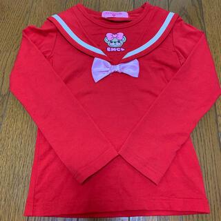 EARTHMAGIC - 35.セーラーカラー 長袖Tシャツ 110