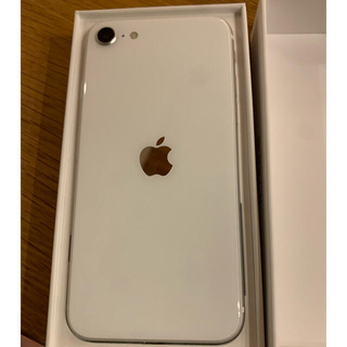 Apple - iPhone se2 ホワイト ワイモバイル 64GB
