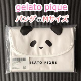 gelato pique - パンダ母子手帳ケース・通帳ポーチ・お薬手帳ケース◆ジェラートピケ◆Mサイズ
