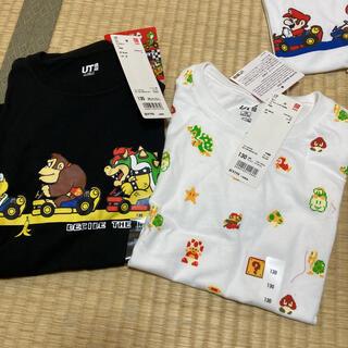 UNIQLO - マリオ Tシャツ クッパ ユニクロ 130 2枚