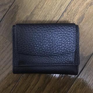 三つ折り財布 黒 新品未使用