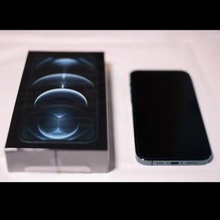 iPhone - 【美品】iPhone 12 pro パシフィックブルー 256GB SIMフリー