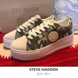 スティーブマデン(Steve Madden)のスティーブマデン 厚底 スニーカー  新品 未使用 値下げ‼️(スニーカー)