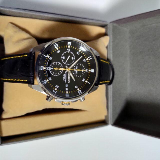 SEIKO(セイコー)のセイコー クロノグラフ デイト 腕時計 SNDC89PD  メンズの時計(腕時計(アナログ))の商品写真
