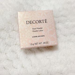 COSME DECORTE - 新品未開封★コスメデコルテ フェイスパウダー 00