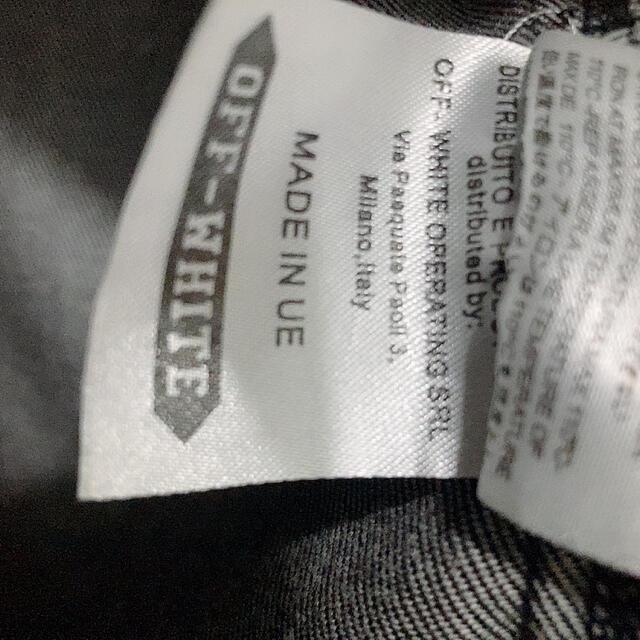 OFF-WHITE(オフホワイト)のoff-white デニムジャケット メンズのジャケット/アウター(Gジャン/デニムジャケット)の商品写真
