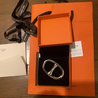 Hermes - HERMES エルメス シェーヌ・ダンクル スカーフリング 新品未使用品