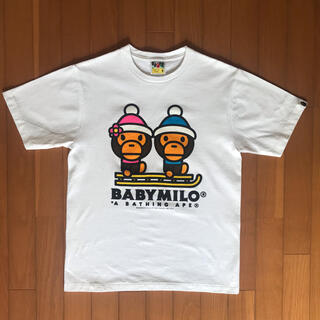 アベイシングエイプ(A BATHING APE)のA BATHING APE マイロTシャツ(Tシャツ/カットソー(半袖/袖なし))