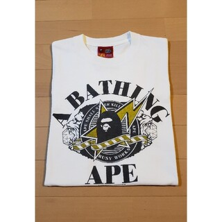 アベイシングエイプ(A BATHING APE)の★激レア★APE BUSY WORKS Tシャツ  シャーク(Tシャツ/カットソー(半袖/袖なし))