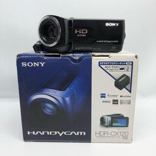 SONY - ソニー SONY デジタルHDビデオカメラレコーダー HDR-CX120/B