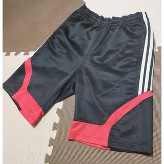 adidas - ☆AHP-325 アディダス ハーフパンツ 黒&赤 サイズ L