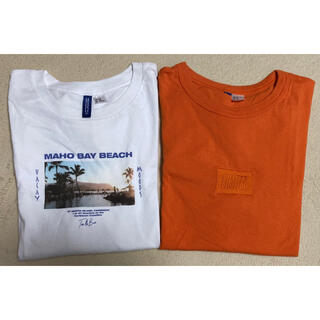 H&M - H&M エイチアンドエム Tシャツ 2点セット