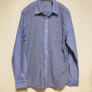 未使用 タグなし アローズ メンズ シャツ L チェックシャツ