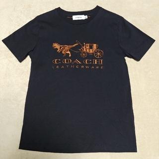 コーチ(COACH)の★美品★COACH コーチ レキシーアンドキャリッジTシャツ ブラック Sサイズ(Tシャツ(半袖/袖なし))
