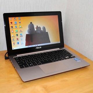 エイスース(ASUS)の薄型PC/3世代CPU/高速SSD/カメラ/Office/新品キーボード(ノートPC)