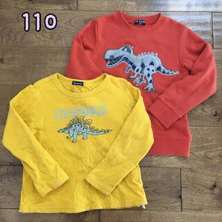mou jon jon - ⭐︎訳あり特価⭐︎男の子 恐竜Tシャツ、スウェット 長袖 110