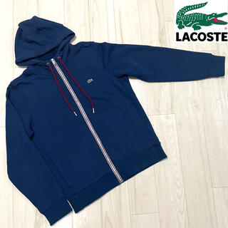 LACOSTE - 【used】LACOSTE one-point Zip up hoodie