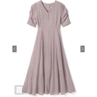 グレイル(GRL)の新品 GRL グレイル  パワショルVネックレースワンピース 白石麻衣(ロングワンピース/マキシワンピース)