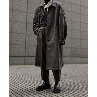 コモリ(COMOLI)のstein OVER SLEEVE INVESTIGATED COAT コート(ステンカラーコート)