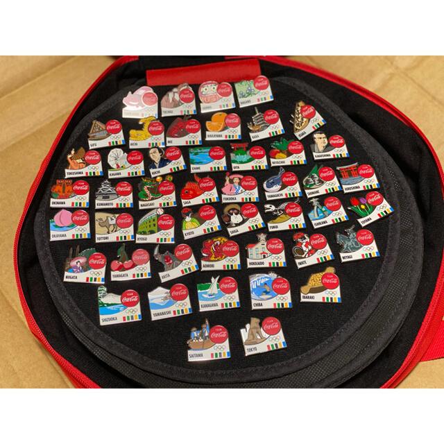 コカ・コーラ(コカコーラ)のコカコーラ ピンバッジ コンプリート 47都道府県 エンタメ/ホビーのアニメグッズ(バッジ/ピンバッジ)の商品写真