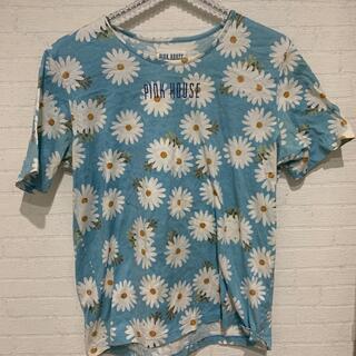 ピンクハウス(PINK HOUSE)のピンクハウス 花柄 Tシャツ(Tシャツ(半袖/袖なし))
