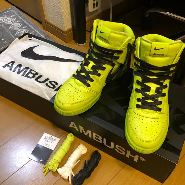 NIKE(ナイキ)のNIKE AMBUSH DUNK HI ナイキ アンブッシュ ダンク メンズの靴/シューズ(スニーカー)の商品写真