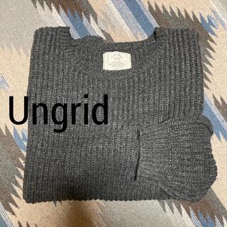 アングリッド(Ungrid)のungrid✨アングリッド ざっくりニット(ニット/セーター)