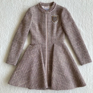 クリスチャンディオール(Christian Dior)のディオール  ワンピース  コート  ワンピースコート(ひざ丈ワンピース)