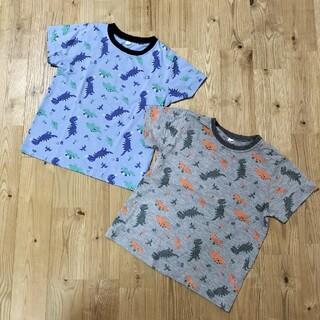 イオン(AEON)の●イオン●恐竜Tシャツ 110   2枚セット●(Tシャツ/カットソー)