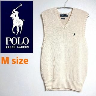 POLO RALPH LAUREN - Polo Ralph Lauren ポロラルフローレン  ニットベスト 刺繍ロゴ