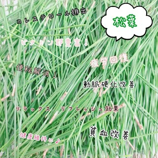 松葉 無農薬500g(野菜)