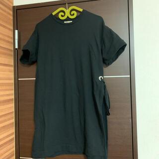ローズバッド(ROSE BUD)のROSE BUD  左サイドスリットがおしゃれな半袖(カットソー(半袖/袖なし))