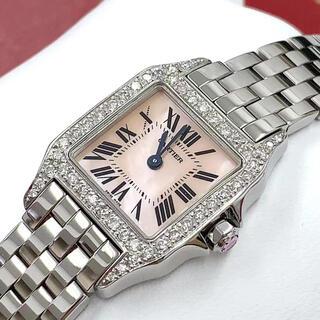 Cartier - カルティエ  サントス ドゥモワゼル SM  W25075Z5 アフターダイヤ