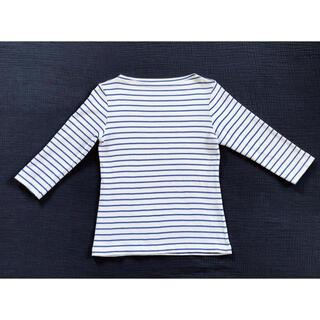 ムジルシリョウヒン(MUJI (無印良品))の無印良品  ボートネック 7分袖シャツ【Mサイズ】(カットソー(長袖/七分))