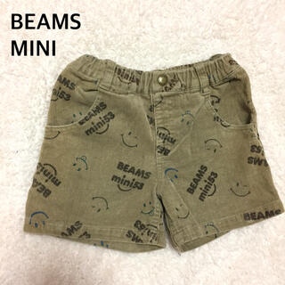 コドモビームス(こども ビームス)のBEAMS MINIスマイルコーデュロイショートパンツ110(パンツ/スパッツ)