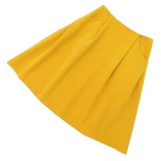 フォクシー(FOXEY)のFOXEY イリプススカート   ロング丈 40(ひざ丈スカート)