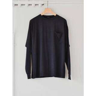 コモリ(COMOLI)の新品 COMOLI 21AW サマーウール長袖クルー ロンT シャツ オーラリー(Tシャツ/カットソー(七分/長袖))