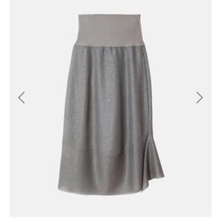 ルシェルブルー(LE CIEL BLEU)のIRENEニットスカート☆(ロングスカート)