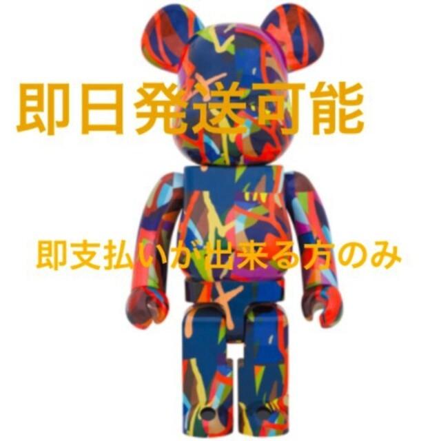MEDICOM TOY(メディコムトイ)のBE@RBRICK KAWS TENSION 1000% TOKYO FIRST エンタメ/ホビーのフィギュア(その他)の商品写真