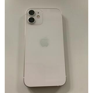 iPhone - 【中古品】iPhone12mini 128GB  ホワイト 本体 SIMフリー